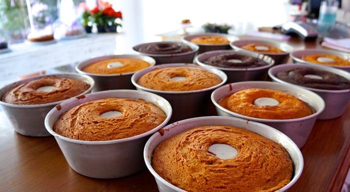 Como fazer bolo para vender