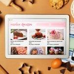 como vender bolos pela internet