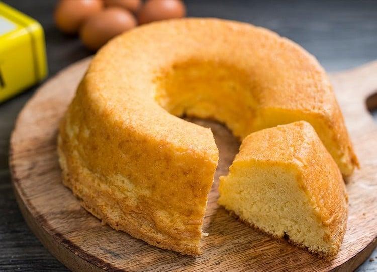bolo de maizena fofinho