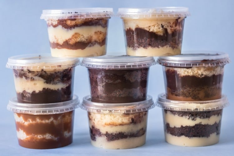 sabores de bolo no pote mais vendidos