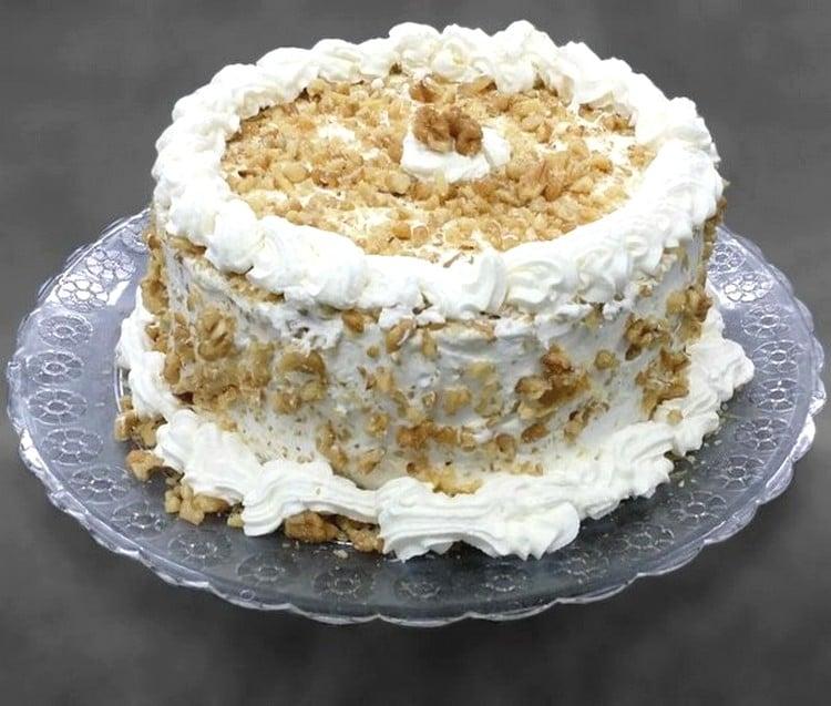 recheio de nozes para bolo