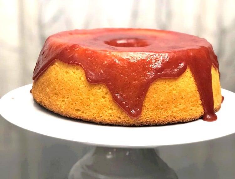 calda de goiabada para bolo