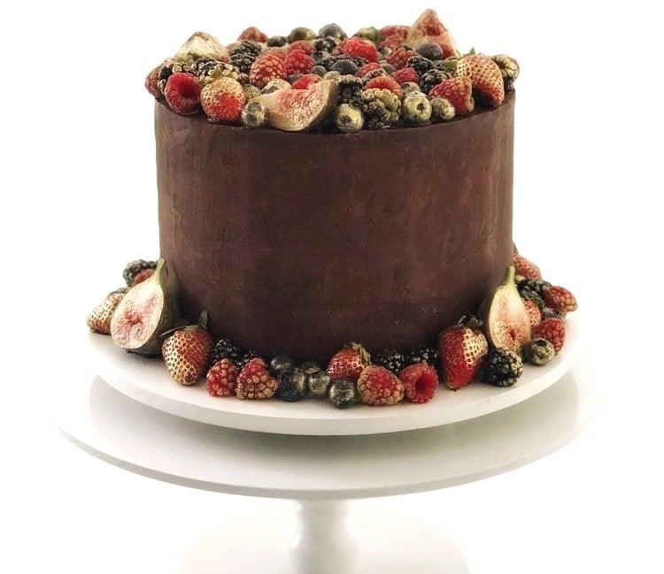 blindagem de bolo simples