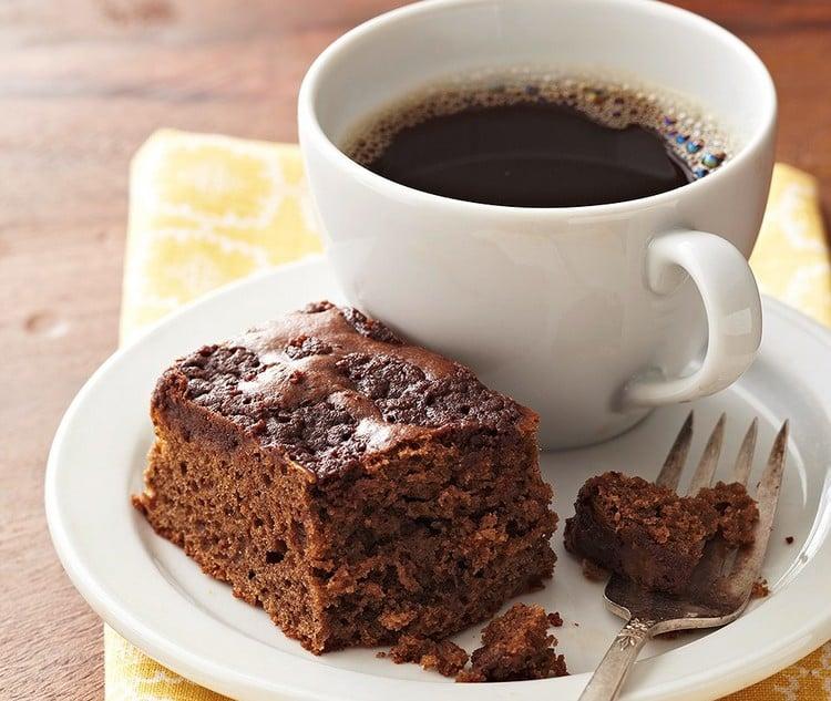 receita de bolo de café solúvel cremoso
