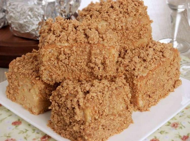 bolo de paçoca vegano simples