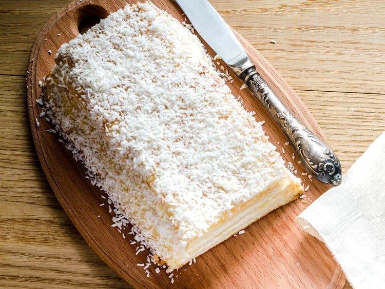 bolo de tapioca que não vai ao forno