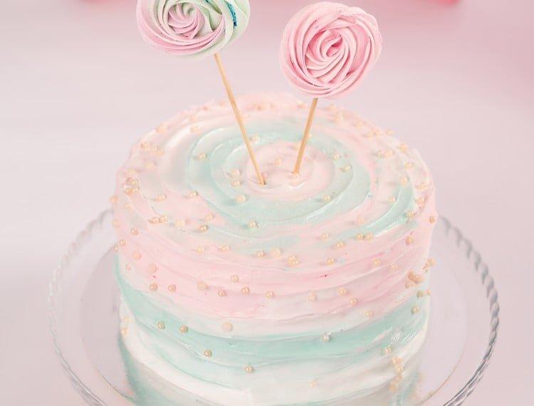 pó brilhante para decoração de bolos