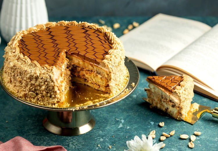 recheio de amendoim para bolo