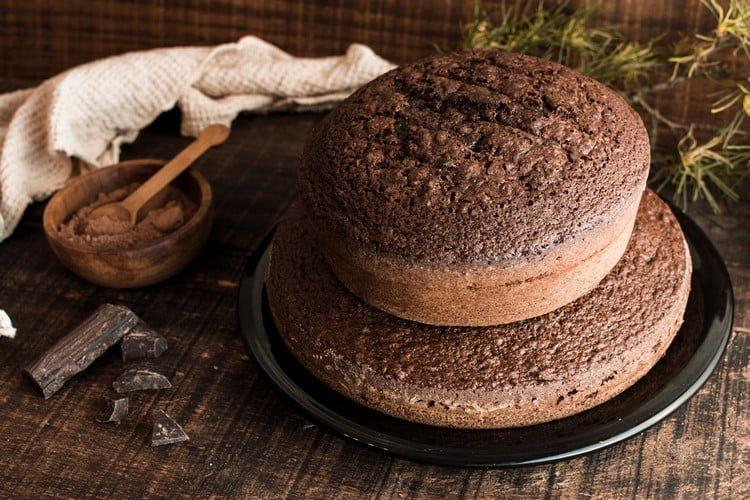 como fazer o bolo crescer por igual