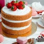 bolo com manteiga ou óleo